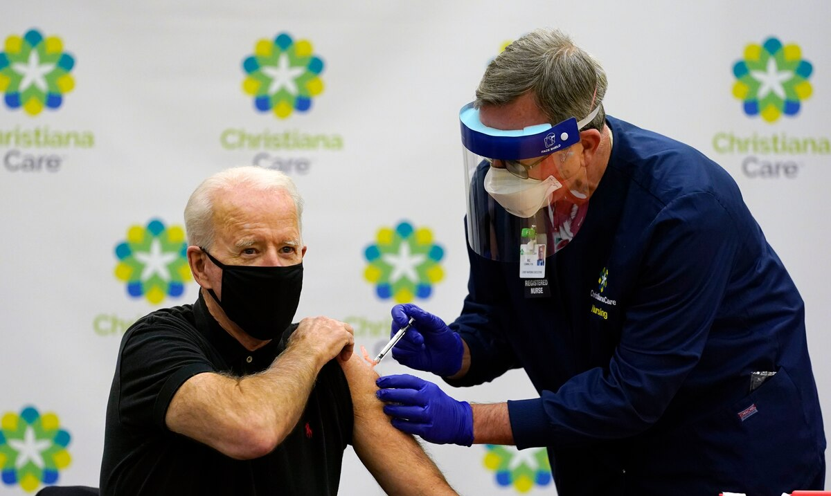 Biden intends to vaccinate 100 million in the United States in his first 100 days in office