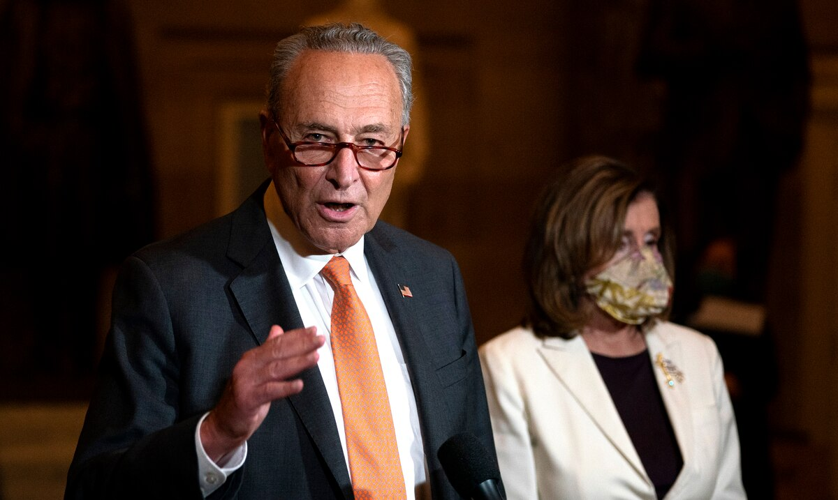 Chuck Schumer asks for quick confirmation from Joe Biden's national security team