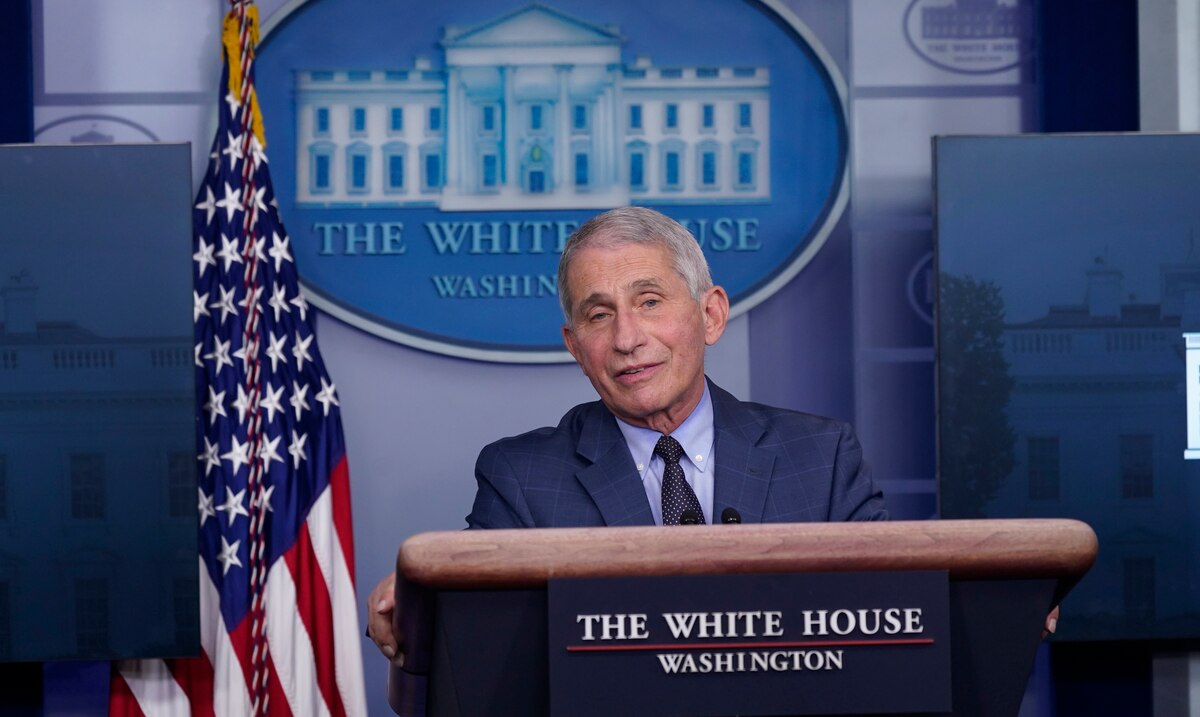 """Epidemiologist Fauci relieved by Trump's departure: """"It's liberating"""""""