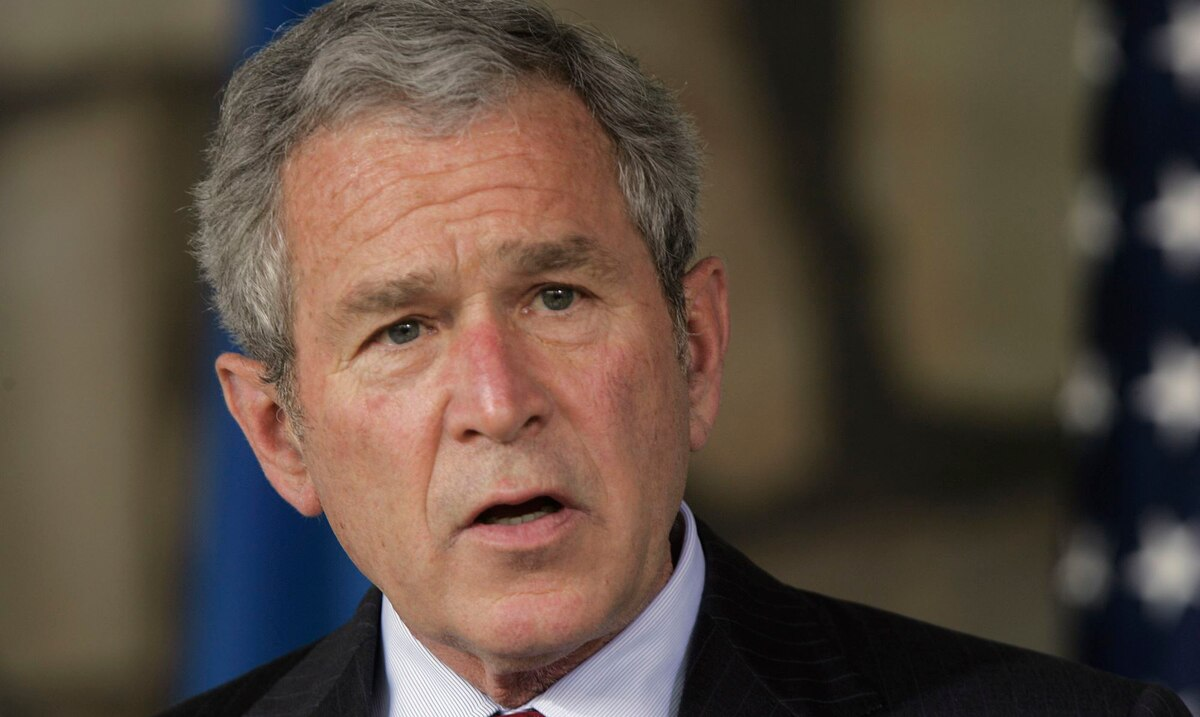 """Former President George W. Bush describes the assault on the Capitol as something of a """"banana republic"""""""