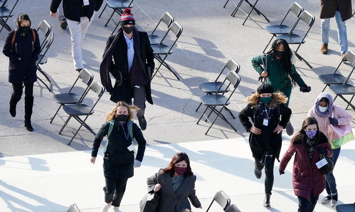 Joe Biden's inauguration rehearsal halted due to fire near federal Capitol