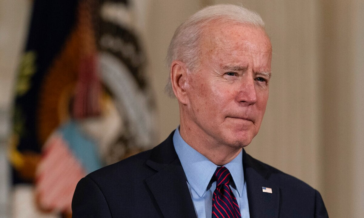 """Joe Biden accepts that """"democracy is fragile"""" after the acquittal of Donald Trump"""