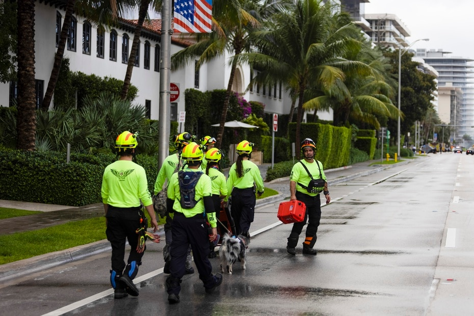 The Champlain Towers South Condominium partially collapsed around 1:30 a.m. on Thursday, prompting a strong mobilization of authorities in the city of Surfside in Miami-Dade County, in southern Florida.