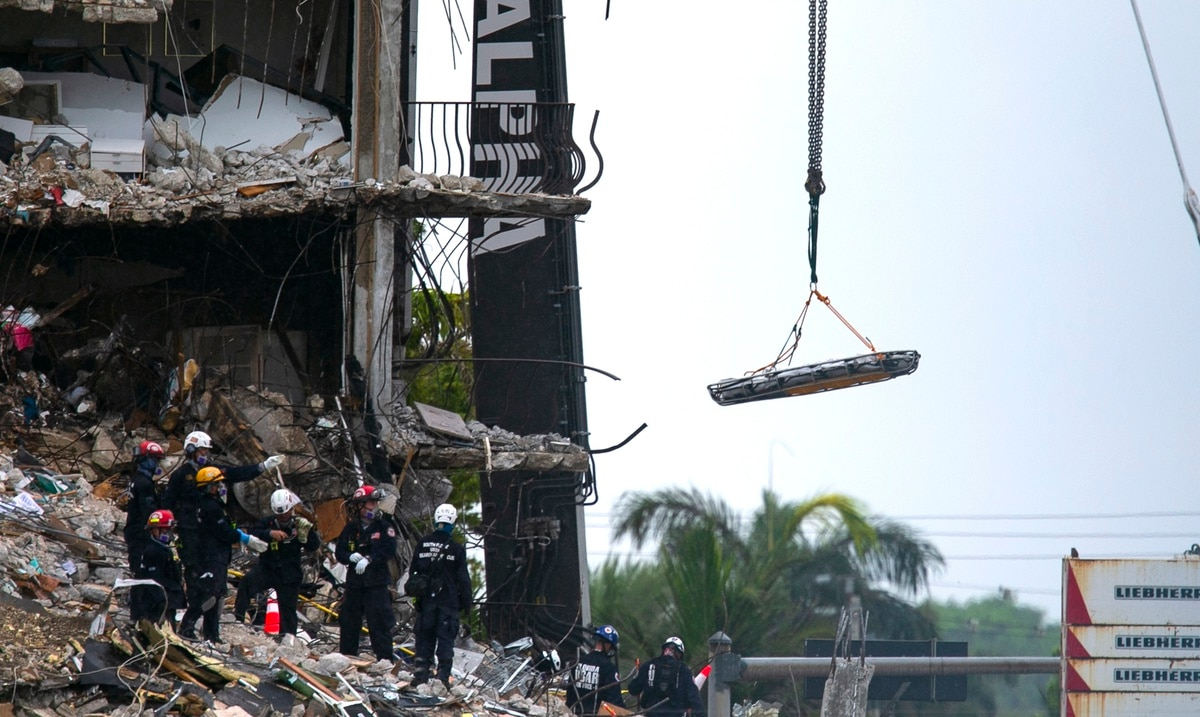 """A construction official indicated in 2018 that the collapsed building in Miami was listed in """"good condition."""""""
