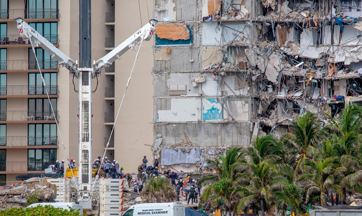 Death toll after Miami apartment building collapse rises to 12