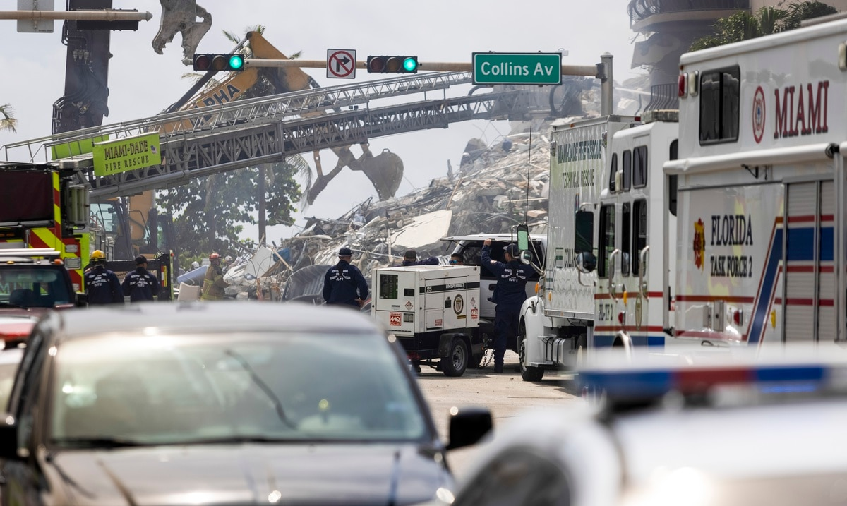 Most of the nine deaths confirmed by the collapse in Miami were of Hispanic origin