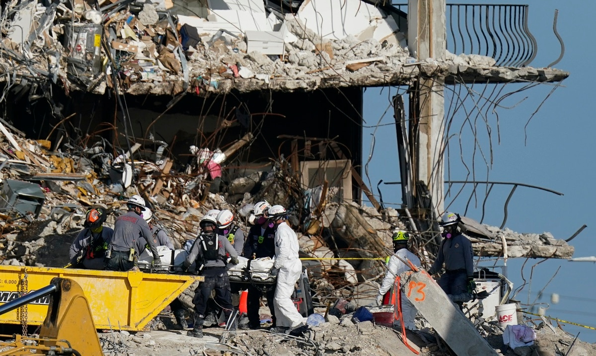 14 bodies recovered and total deaths from Miami building collapse to 78