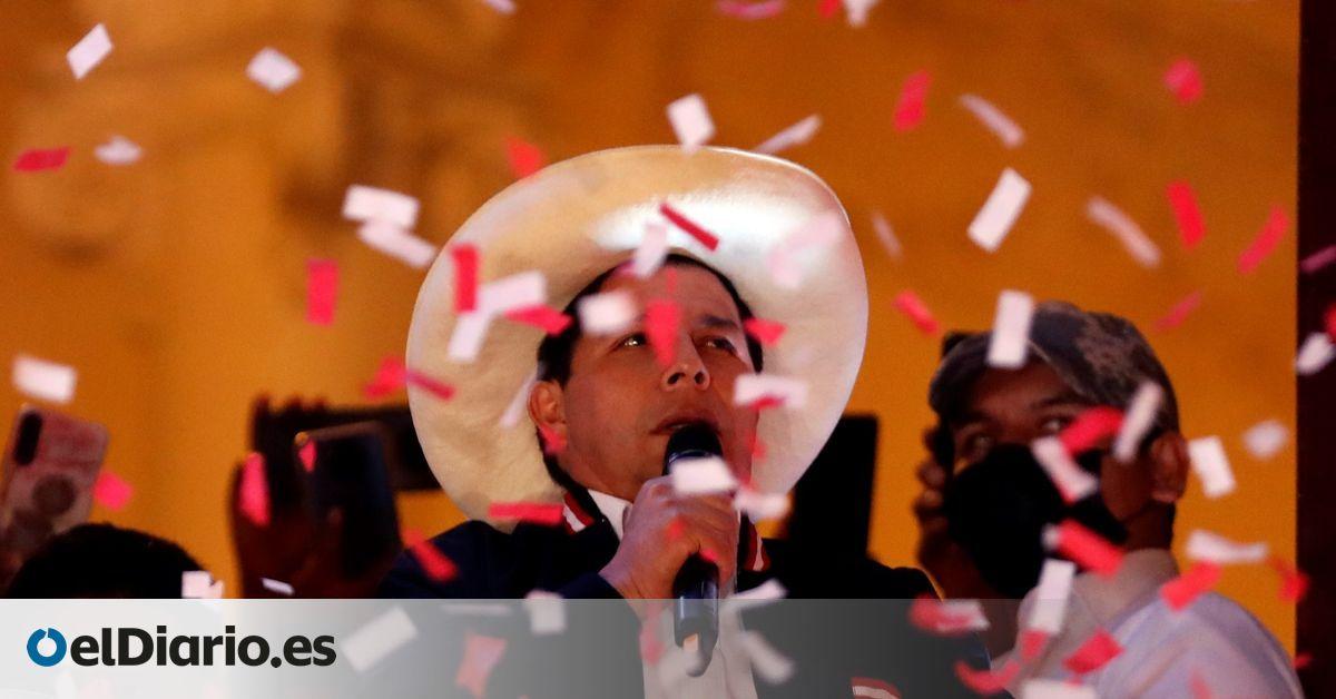 Pedro Castillo Is Proclaimed President-elect Of Peru