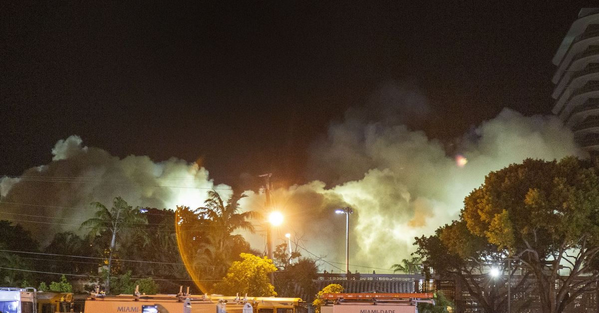 Completely Demolished The Building Collapsed Almost Two Weeks Ago In Miami