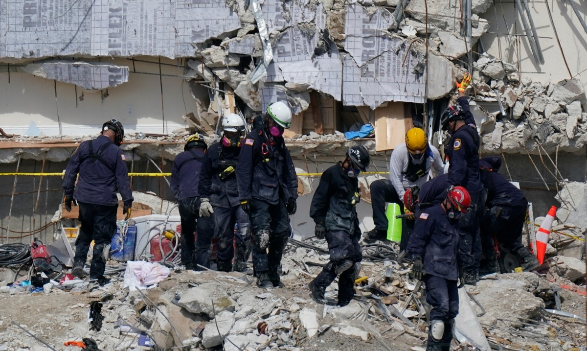 A 7-year-old girl is one of two new fatalities identified in the Miami landslide.