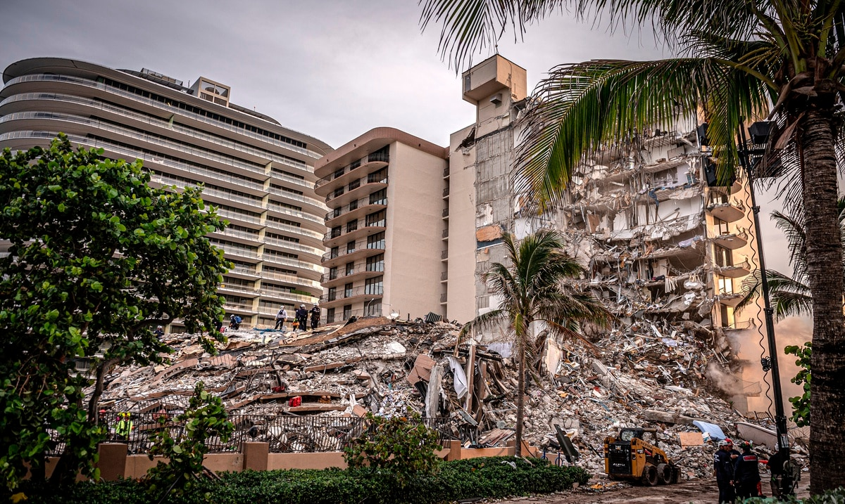 Miami authorities plan to tear down the remains of the Champlain Towers South building tomorrow