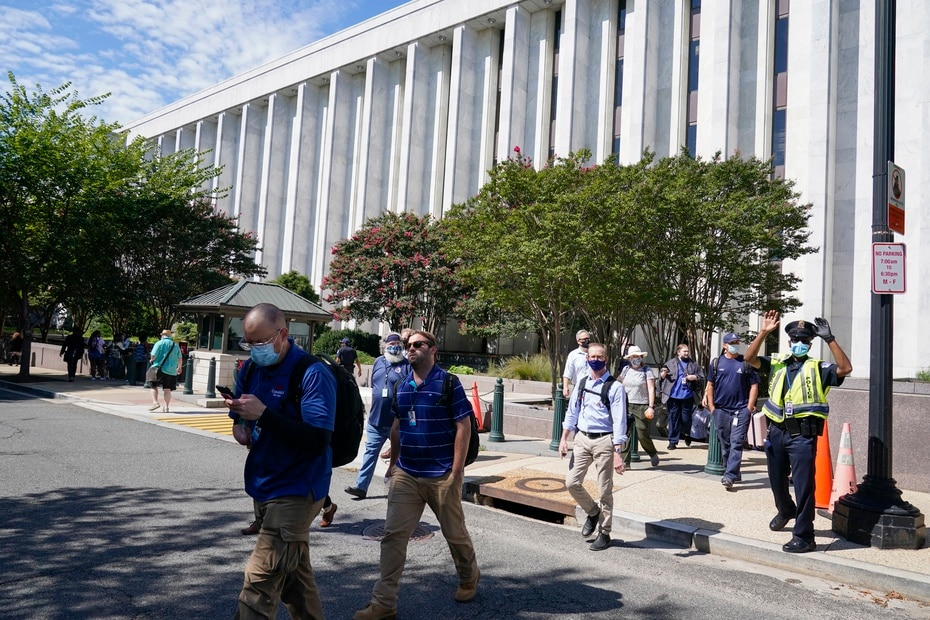 The incident comes months after a homemade bomb was left at the headquarters of the Democratic National Committee and the Republican National Committee in Washington.