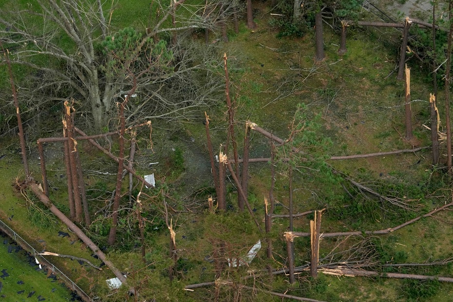 Louisiana residents now face the possibility of going weeks without power.