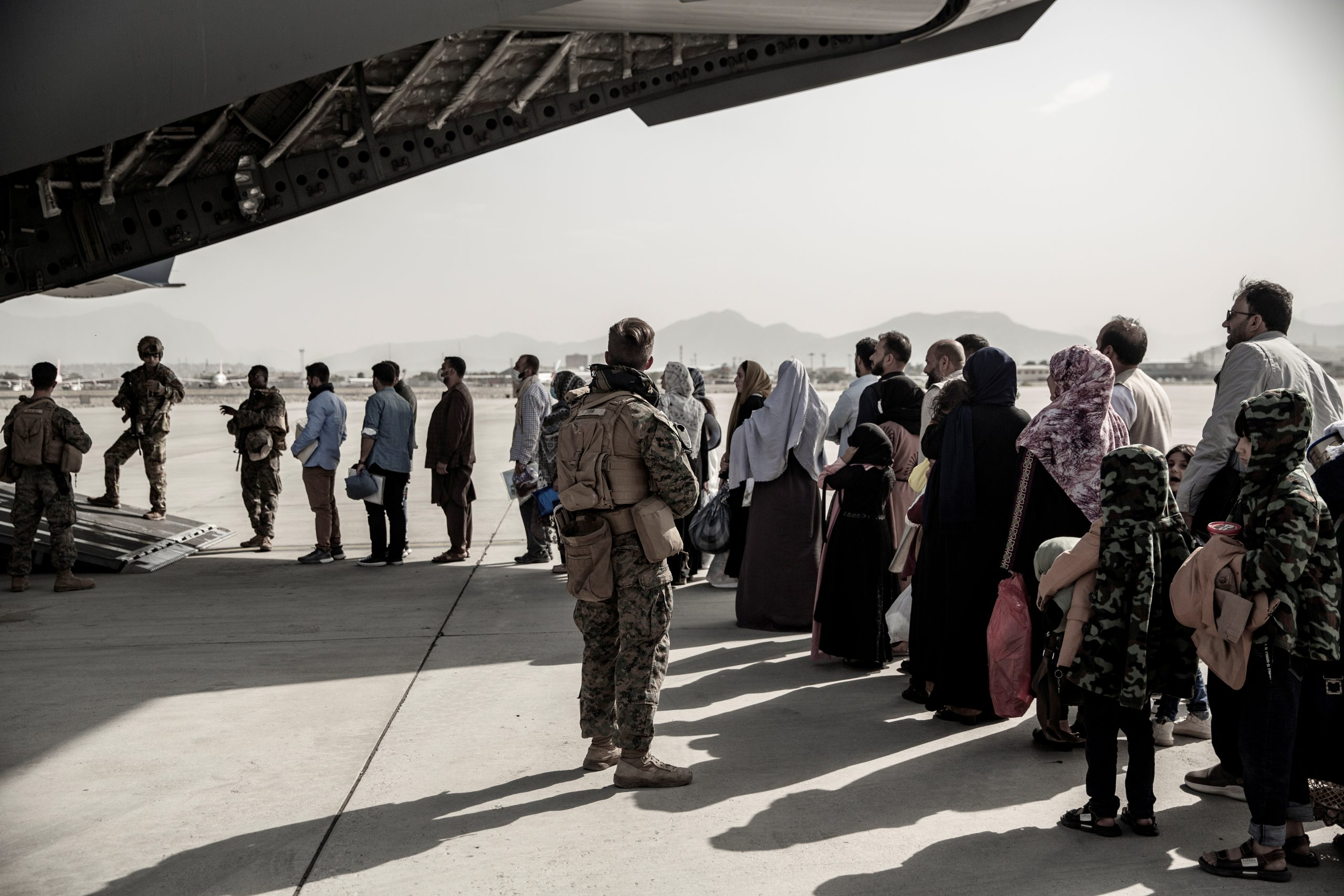 Taliban Allow 200 People To Evacuate From Kabul